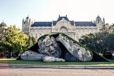Impresionante escultura