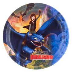 How To Train Your Dragon Dinner Plate... $0.99 #bestseller