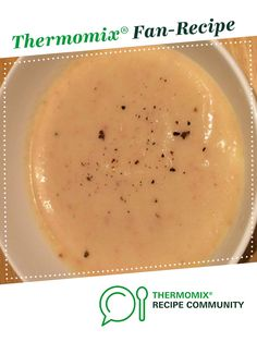 Recipe Potato, bacon and cauliflower soup by StezzaMixa, learn to make this recipe easily in your kitchen machine and discover other Thermomix recipes in Soups. Potato Recipes, Soup Recipes, Cooking Recipes, Cauliflower Potato Soup, Thermomix Soup, Recipe Community, Bellini, Soups, Bacon