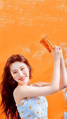 South Korean Girls, Korean Girl Groups, Miss Korea, Red Velvet Joy, Park Sooyoung, Red Art, Seulgi, Kpop Girls, My Girl