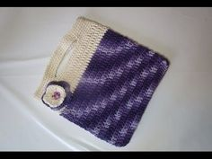 DIY learn howto crochet purse bagclutch handbag walle easy tutorial