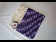 DIY learn howto crochet purse bagclutch handbag walle easy tutorial