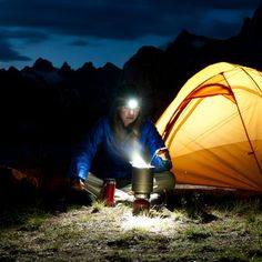 Camping tip: Bring a headlamp for hands-free camping chores in the dark.
