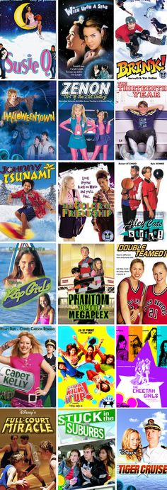 DCOM movies from when I was a kid. All my favorites!!!! So much has changed!...sadly