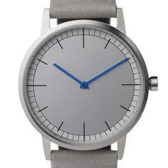 Uniform Wares 152 Series (brushed/grey) watch by Uniform Wares. Available at Dezeen Watch Store: www.dezeenwatchstore.com