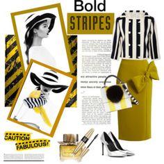 Caution: Bold Stripes