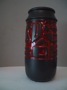 Beauceware #5010 Chimo Vase - Jean Cartier, Céramique de Beauce (1980) Cartier, Vase, Inventions, Canada, Pottery, French, Mugs, Tableware, Vintage