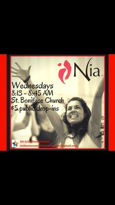 YES!!!  Back at it tomorrow a.m.!  Join us & bring a friend(s) new to Nia® to enjoy their first class FREE! @St. Boniface Catholic Church, Edwardsville