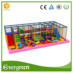 PVC material indoor playground cheap soft play equipment