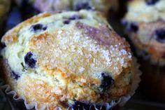 Jane's Sweets & Baking Journal: Joyously Jumbo Blueberry Muffins!