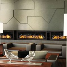 Napoleon's dynamic linear fireplace creates a stunning focal point in any setting. The is a modern designer's dream and a home owner's stylish comfort. TV will be mounted above this fireplace. Direct Vent Gas Fireplace, Linear Fireplace, Build A Fireplace, Stove Fireplace, Modern Fireplace, Gas Fireplaces, Fireplace Ideas, Indoor Fireplaces, Mantel Ideas