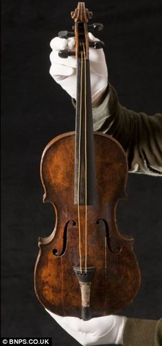 Memories: More than 100 years after Titanic sank, this violin has been confirmed as the one that played as the ship went down
