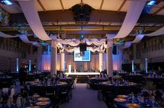 greek party decorations | Greek - Theme Decor - Event Gallery - Portland Event Rentals (Peter ...
