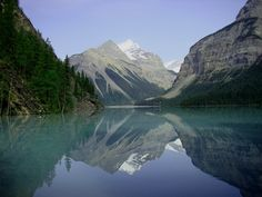 Kinney Lake, Mount Robson - This is where Shayne and I got married