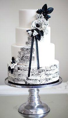 Midnight in Paris wedding cake | by Sophie Bifield