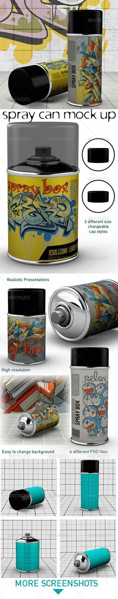 Spray Can Mock Up