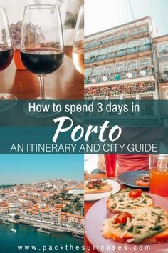3 days in Porto itinerary - the gem of Portugal | PACK THE SUITCASES Portugal Vacation, Portugal Travel, Europe Continent, Adventures Abroad, Douro Valley, Port Wine, Visit Portugal, Visit Japan, Beer Garden