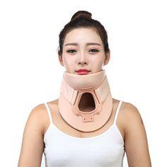 Neck support plastic Air Cervical Neck Brace support Philadelphia Traction Soft Neck Pain Relief Health Care Posture correctJZ03
