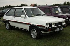 1982 Ford Fiesta XR2 by Trigger's Retro Road Tests!, via Flickr