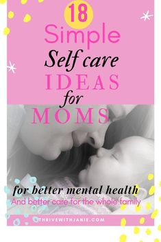 Moms are frazzled and need to take a few precious moments to practice their own self-care. Giving of yourself around the clock can lead to mental an physical exhaustion. Moms mental health needs to be nourished with healthy food, and simple pleasurable activities that comfort the mind and the body. Practice these simple quick and effective self-care ideas. # selfcare  #moms #mentalhealth