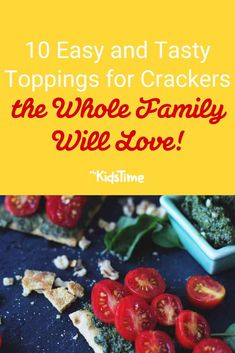 10 Easy and Tasty Toppings for Crackers the Family Will Love Quick Snacks, Yummy Snacks, Nutritious Snacks, Healthy Snacks, Smoked Salmon Spread, Bread Alternatives, Smoked Fish, Lunchbox Ideas, Crackers