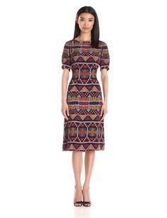 Pendleton Women's Stella Dress, Multi Print, 4