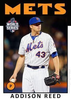 fd0c452b677 2015 New York Mets World Series Retro Baseball Cards
