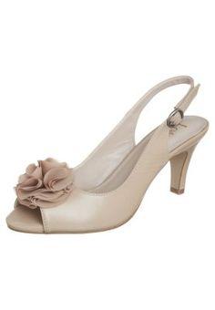 SARENNA - Peeptoes - beige