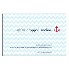 So adorable for address change notices or housewarming party invites!