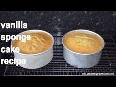 Easy vanilla sponge cake recipe by Busi Christian-Iwuagwu - YouTube