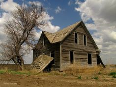 Forsaken Places: All houses wherein men have lived and died Are hau...