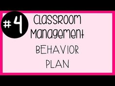 #4 Classroom Management - Behavior Plan & Mini Class Dojo Tutorial // A Classroom Diva - YouTube