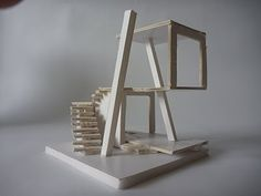 BEYOND REPRESENTATION: architectural design 5: Initial Concept Model