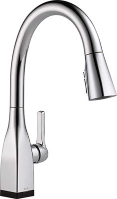 Single-Handle Lead-Free Sink aucet 360 Degree Kitchen Mixer taps with Pull Out Spray Made of 304 Stainless Steel Provide hot and Cold Water Settings GAVAER Kitchen Mixer Sink Tap