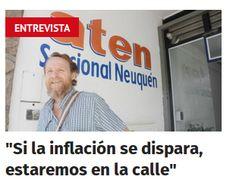 """Piedra OnLine: Guagliardo: """"Si la inflación se dispara, estaremos..."""