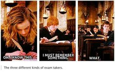 I am definitely a bit of each, sometimes, but I resonate more closely with Hermione.