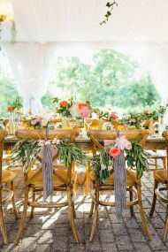 Colorful Summer Wedding at the Miller Lash House - Style Me Pretty