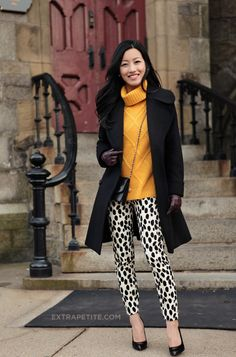 Winter Casual: Talbots cashmere (