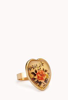 Antiqued Rose Ring | FOREVER21 - 1000051328