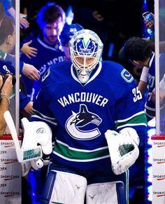 Vancouver Canucks' goalie Cory Schneider