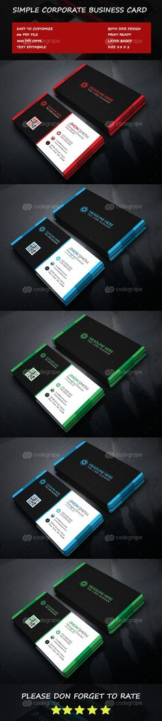 Corporate Business Card on @codegrape. More Info: https://www.codegrape.com/item/corporate-business-card/11816