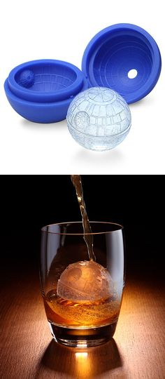 Awesome. Death Star Ice SPHERE Mold.