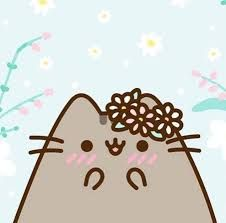 Pusheen Surprise Box 2019 Spring Here is an image without the words (in case you like it this way) Pusheen Love, Pusheen Cat, Pusheen Stormy, Stitch Games, Images Kawaii, Image Chat, The Words, Cute Kawaii Drawings, Kawaii Cat