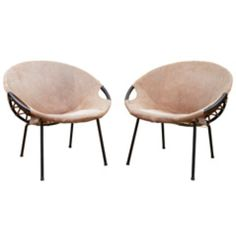 Killer Pod Chairs from Kendall Wilkinson Design - $1,700 on Chairish.com