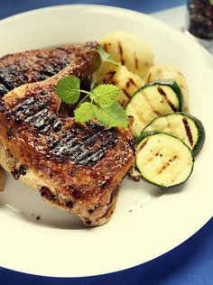 Grillowane ćwiartki z kurczaka w marynacie porzeczkowej #obiad #przepisy #kurczak #grill #marynata #POLOmarket