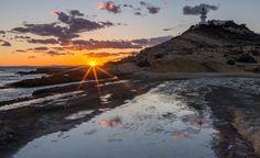 "Sunset Faro del Cabo, Presentada al concurso ""#Mediterraneamente de Quesabesde.com"""