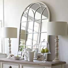 Arch Mirror - Barker and Stonehouse #mirrors #homedecor