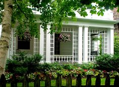 long, narrow front porch ideas - Google Search