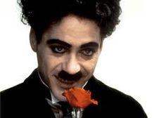 Robert Downey Jr. as Charlie Chaplin