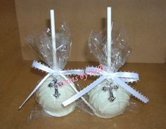 First Communion Cake Pops ?